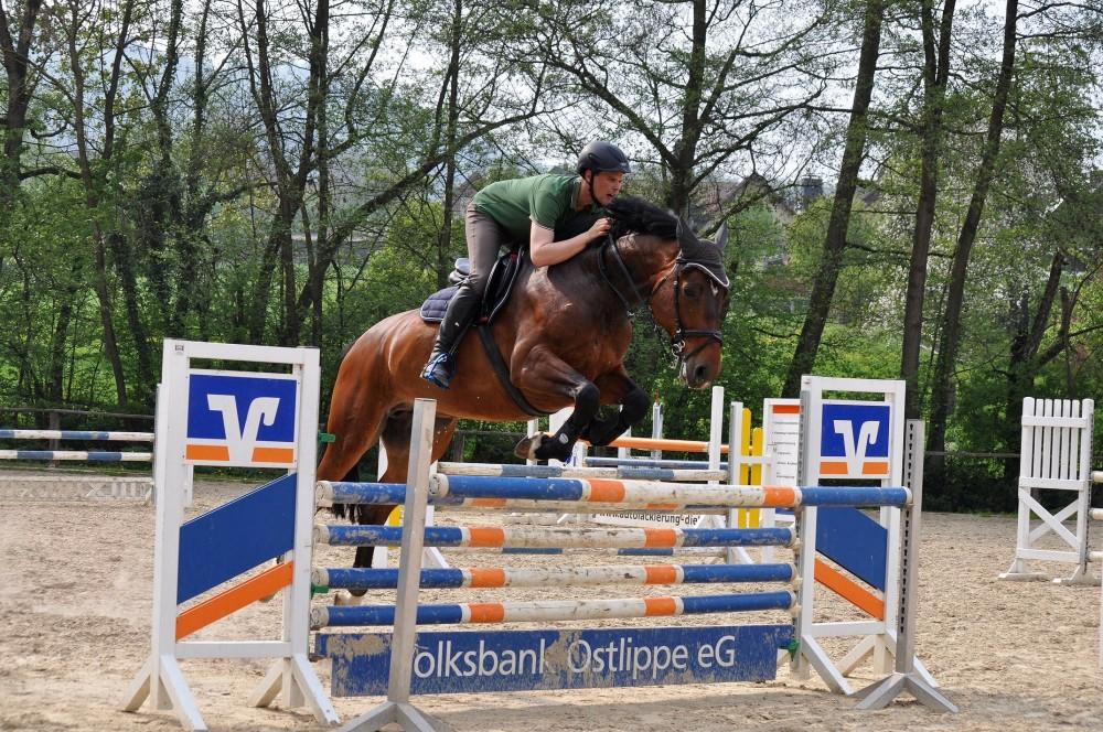 Consuelo und Maik beim Training am 30.04.14 für das Turnier in Hildesheim-2
