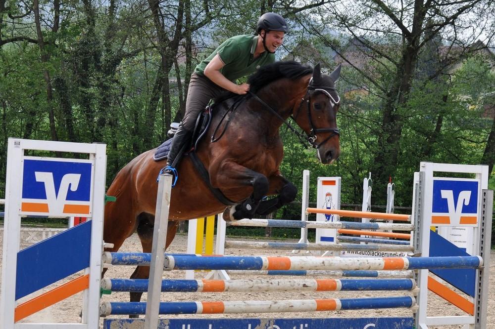 Consuelo und Maik beim Training am 30.04.14 für das Turnier in Hildesheim-4