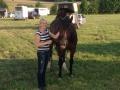 Consuelo mit Ronja in Bielefeld Brake, 31.07.14