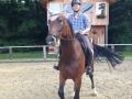 Consuelo und Maik beim Training, am 07.08.14-1