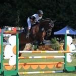 Turnier Lage, Springpferdeprüfung A**, Freitag 16.08.13, Pferd: Consuelo, Reiter: Maik Schlingheider