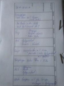 Trainingsplan 30.12.13 - 05.01.14