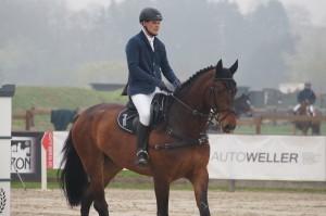 Consuelo am 5. April 2014 beim Turnier Hof Meyer zu Hartum