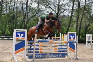 Consuelo und Maik beim Training am 30.04.14 für das Turnier in Hildesheim