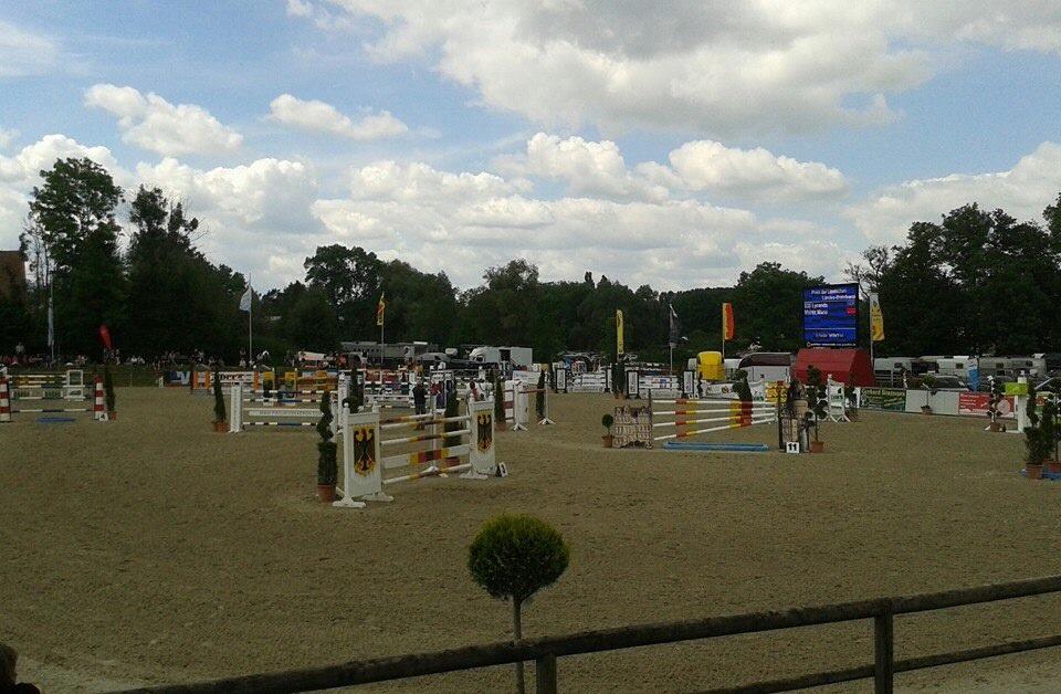 Turnier in Remmighausen, 13.06.14, der Parcours