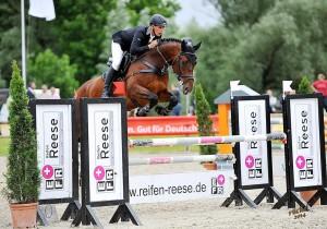Turnier in Remmighausen, 13.06.14, der Parcours: Maik und Consuelo