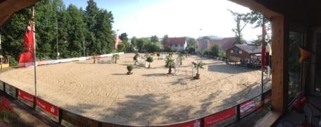 Der Parcours, am Freitag in Eschenbruch