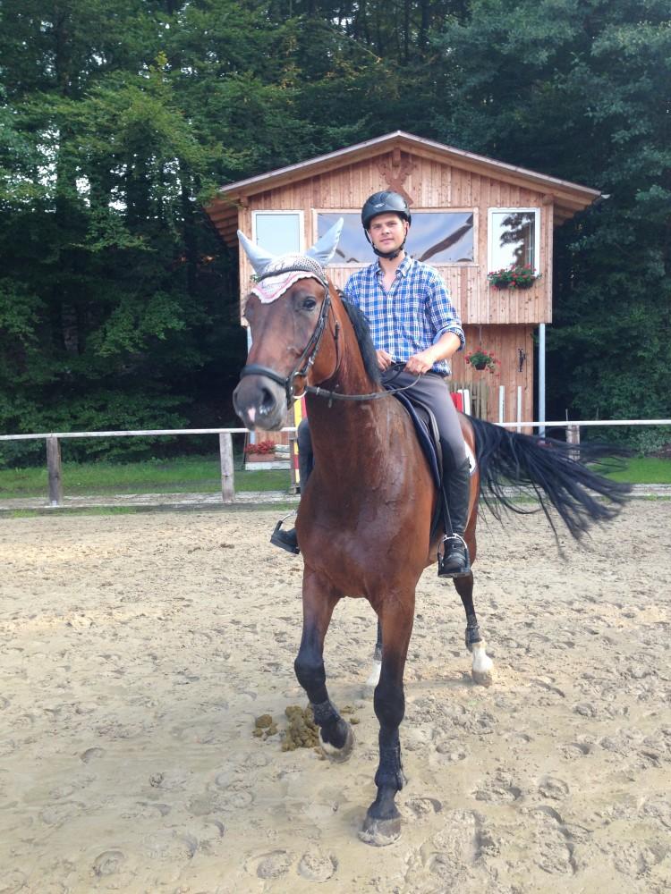 Consuelo und Maik beim Training, am 07.08.14