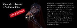 Consuelo: Ein Pferde-Krimi