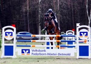 Consuelo und Maik Ostermontag auf dem Turnier in Bad Lippspringe beim M**