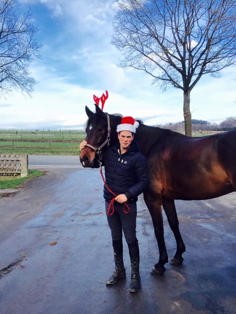 Consuelo und Maik, Weihnachten 2015